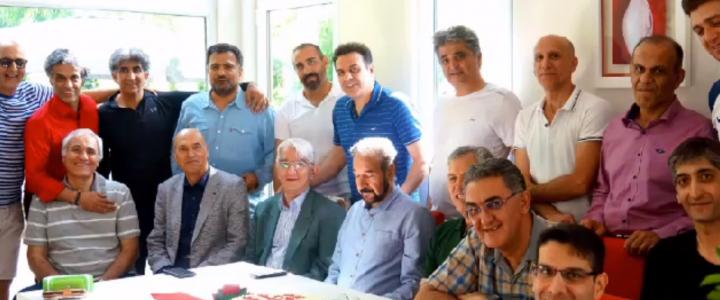 جشن تولد استاد پرویز نجف پور