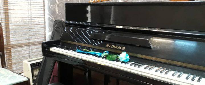 آموزش فاصله ها در پیانو