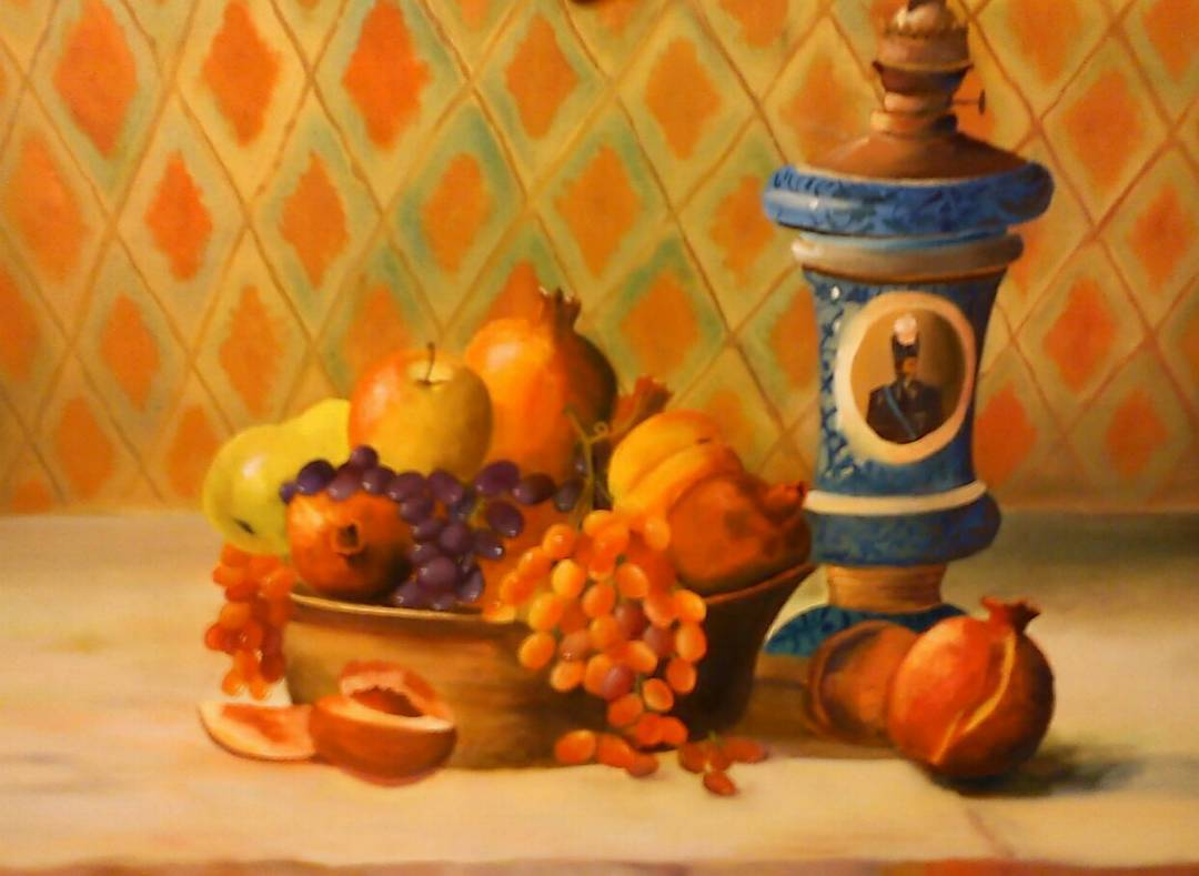 نمونه کار نقاشی هنرجویان